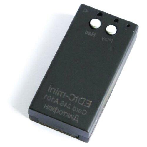 Диктофон для скрытой записи разговора Эдик мини Card24S A101 - мини диктофон, диктофон с распознаванием речи, запись на диктофон во время разговора в подарочной упаковке