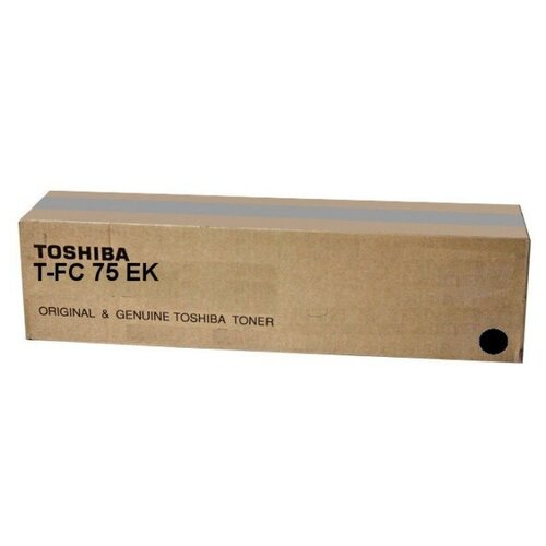 Фото - Тонер-картридж Toshiba T-FC75EK (6AK00000252) тонер toshiba t 2340e