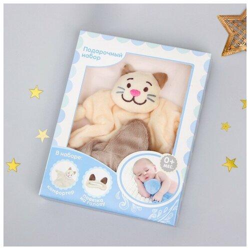 Игрушка «Котик», повязка, для новорождённых 3424456 крошка я игрушка комфортер для новорождённых игрушка для детей первый подарок пинетки