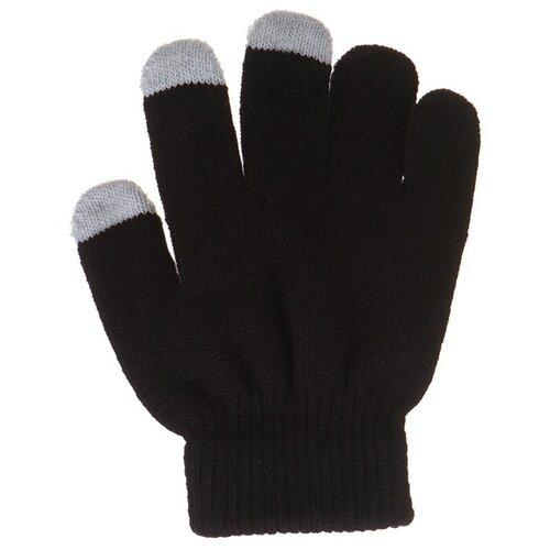 Теплые перчатки для сенсорных дисплеев Activ Детские Black 124439