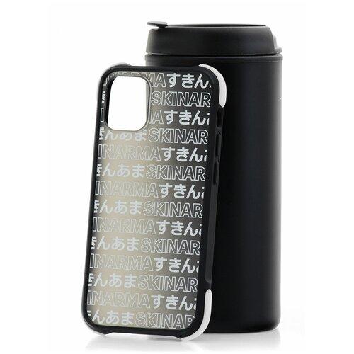 Чехол для Apple iPhone 12 mini Skinarma Kotoba Black / Чехол бампер на iPhone / накладка на iPhone / защитный чехол на айфон / защитный чехол / защитный бампер для iPhone / накладка для айфона / противоударный бампер для телефона / чехол на телефон / противоударный чехол для iPhone / бампер айфон / чехол на айфон / защитный чехол / защитный бампер для iPhone / накладка для айфона / противоударный бампер для телефона / чехол на телефон