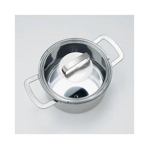 IKEA 365+ икеа/365+ Кастрюля с крышкой, нержавеющ сталь/стекло3 л