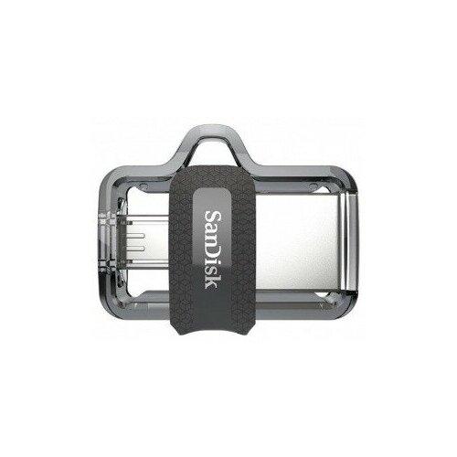 Фото - Флеш накопитель 256GB SanDisk Ultra Android Dual Drive OTG, m3.0/USB 3.0, Black флеш накопитель 256gb sandisk cz810 extreme go usb 3 2 black