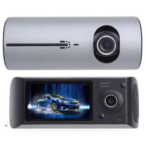 Видеорегистратор R300 с двумя камерами и GPS