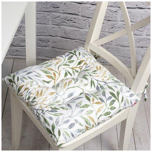 Фото - Подушка на стул Лиона, 41х41 см, 705-2010/1 штора на люверсах с рисунком лиона 200х270 см p709 2010 1 хлопок цвет оливковый
