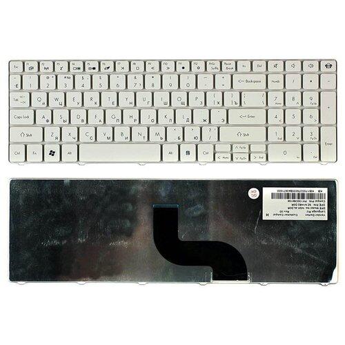 Клавиатура для ноутбука eMachines E732G белая