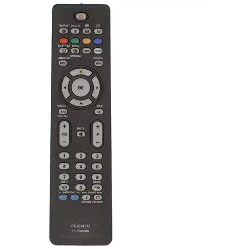 Фото - Пульт RC2034301/01 LCD TV для телевизора PHILIPS пульт put6101 60 philips 996596003606 996596002916 tv для телевизора philips
