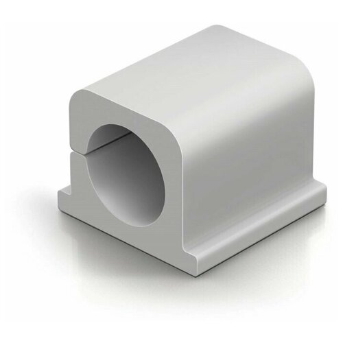 Фиксатор для кабеля до 12мм DURABLE CAVOLINE® CLIP PRO 2, антрацит, 4шт./уп.