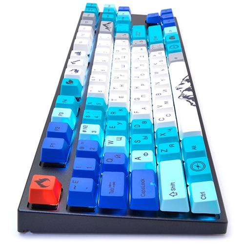 Профессиональная клавиатура Varmilo VA87M Summit Cherry MX Silent Red