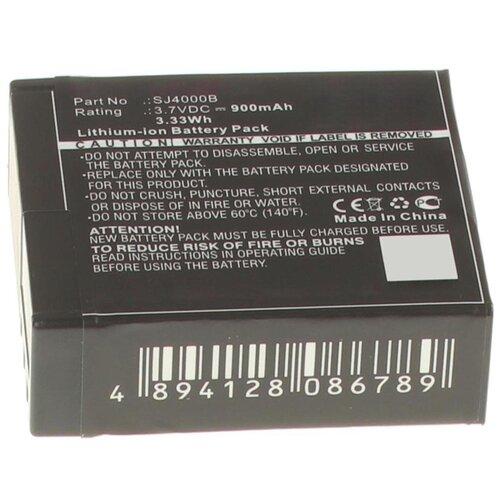 Фото - Аккумуляторная батарея iBatt 900mAh для Eken, Sjcam PG1050, SJ4000B аккумулятор ibatt ib u1 f441 900mah для sjcam sj4000