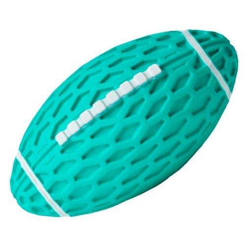 Мячик для собак Homepet для регби бирюзовый