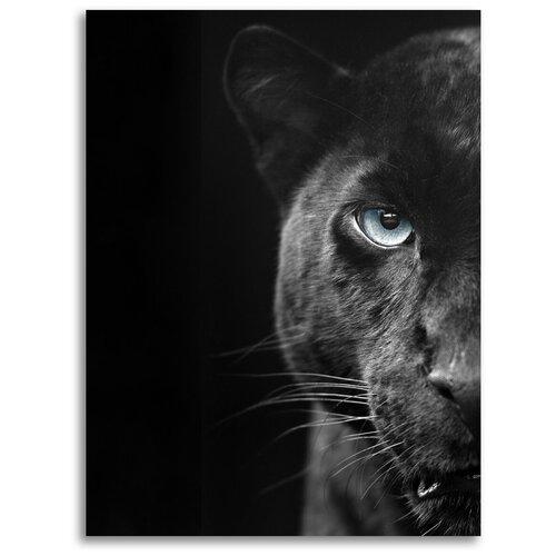Картина на холсте LOFTime 30х40 пантера половинка К-75-3040