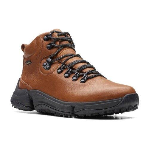 Полуботинки Clarks размер 40, коричневый туфли clarks clarks cl567ambuup3