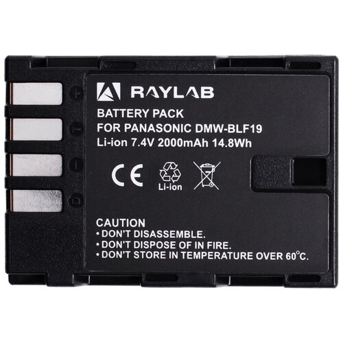 Фото - Аккумулятор Raylab RL-BLF19 2000мАч софтбокс raylab rpf sb1014 s silver
