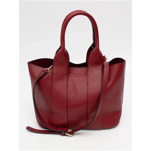 355-56 XL-6061 Классическая сумка Ludor Красный