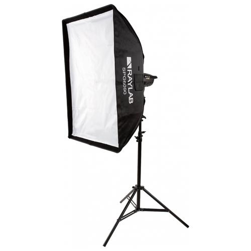 Фото - Софтбокс Raylab SPG6090 с сотами софтбокс raylab rpf sb1014 s silver