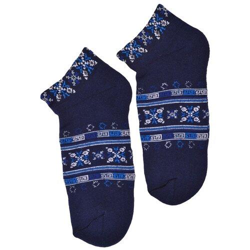 Носки женские Гамма С477, Тёмно-синий, 23-25 (размер обуви 36-40)