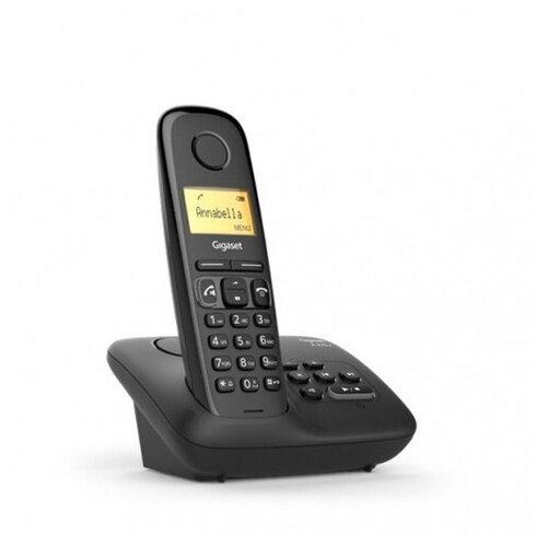 Фото - Радиотелефон Gigaset A270A AM RUS черный автооветчик АОН S30852-H2832-S301 телефон dect gigaset a415a rus s30852 h2505 s302 белый автооветчик аон