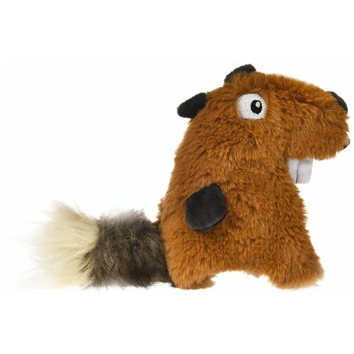 Игрушка для собак Homepet Белка (71106) коричневый