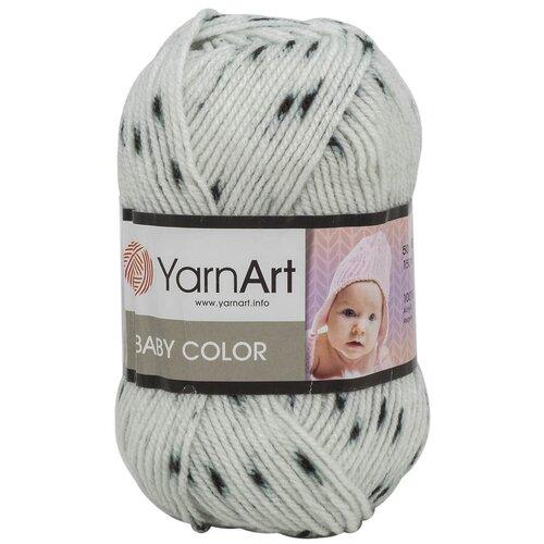 Фото - Пряжа YarnArt 'Baby color' 50гр 150м (100% акрил) (273 принт), 5 мотков пряжа yarnart baby 50гр 150м 100% акрил 1182 коричневый 5 мотков