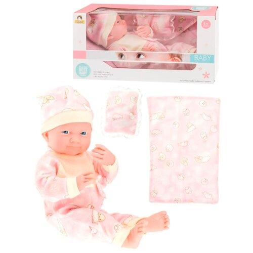 Пупс с одеялом и подушкой / Кукла - пупс / Пупс baby
