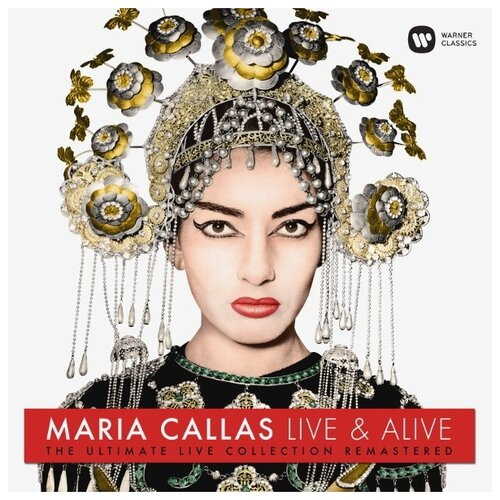 Фото - Maria Callas. Live & Alive. The Ultimate Live Collection Remastered (виниловая пластинка) виниловая пластинка kiss alive – the millennium concert 0602537769247