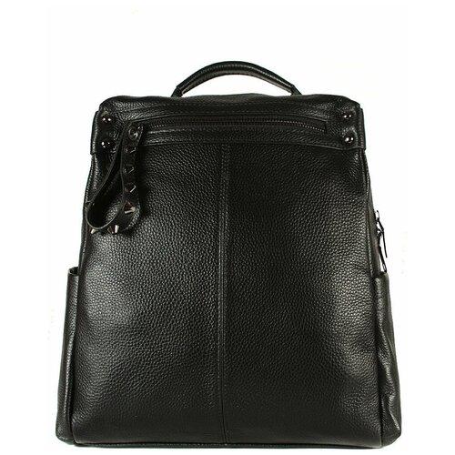 Рюкзак/Рюкзак женский/Рюкзак женский натуральная кожа/MEYNINGER/КС-7007/черный1/модель рюкзак/городской
