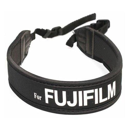 Фото - Ремень Matin M-10417 для фотоаппаратов Fujifilm, неопреновый черный ремень на запястье fujifilm gb 001 grip belt