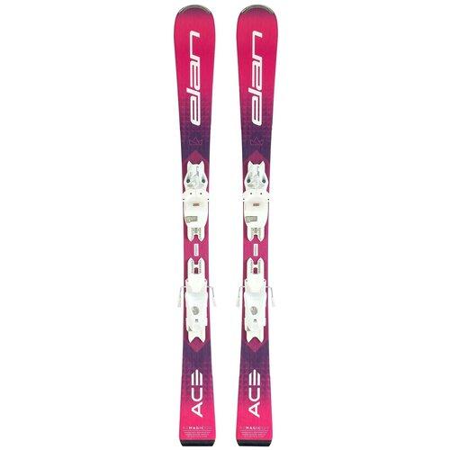 Горные лыжи детские с креплениями Elan RC Magic Quick Shift (21/22), 130 см