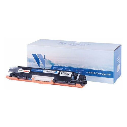 Фото - Картридж лазерный NV PRINT (NV-CE311A/729C) для HP M175nw/CP1025nw/CANON LBP7010C, голубой, ресурс 1000 страниц картридж canon 729 для lbp7010c 7018c голубой