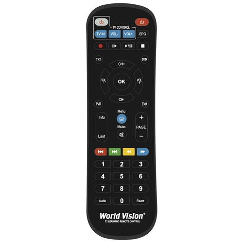 World Vision Пульт ДУ World Vision Обучаемый для DVB-T2/C приемников, приставок, ресиверов