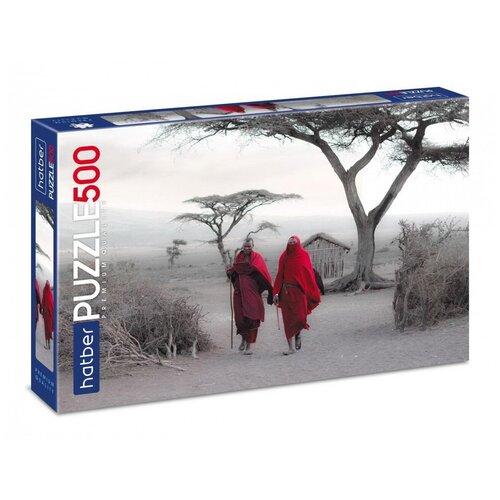 Пазл Hatber Premium Дыхание Африки 500 элементов, 480х330мм 500ПЗ2-26169