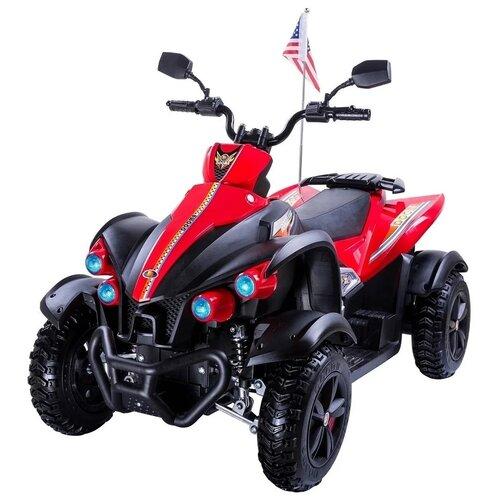 детский электроквадроцикл RiverToys Электроквадроцикл P222PP, красный