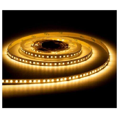 Светодиодная лента SMD 2835, 120 LED, 12 В, 9.6 Вт, 10-12 лм, IP22, желтый светодиодная лента urm smd 2835 120 led 12v 9 6w 8 10lm 3000k ip22 warm white n01010