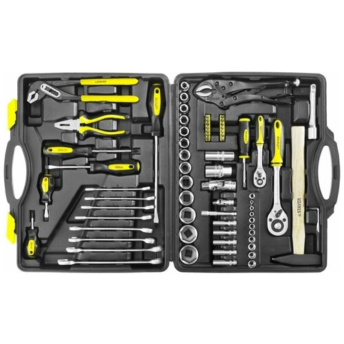 27760-H72 STAYER MASTER 72 универсальный набор инструмента 72 предм. сумка для инструмента stayer master 38550