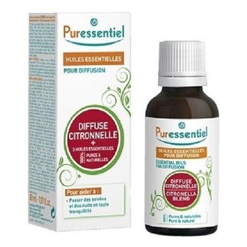 Комплекс эфирных масел PURESSENTIEL цитронелла + 3 эфирных масла 30 мл