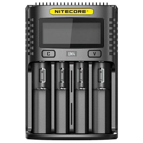 Фото - Зарядное устройство Nitecore UM4 зарядное устройство nitecore new i4 15364