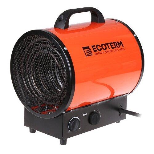 Нагреватель воздуха электрический (пушка) 9 кВт Ecoterm EHR-09/3E