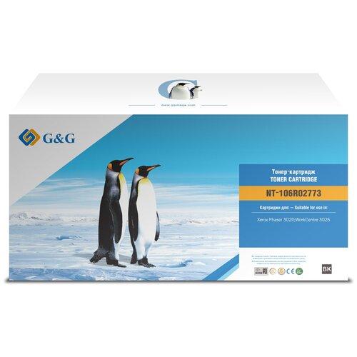Картридж лазерный G&G NT-106R02773 черный (1500стр.) для Xerox Phaser 3020/WorkCentre 3025 тонер картридж xerox 106r02773 1 5k phaser 3020 wc 3025