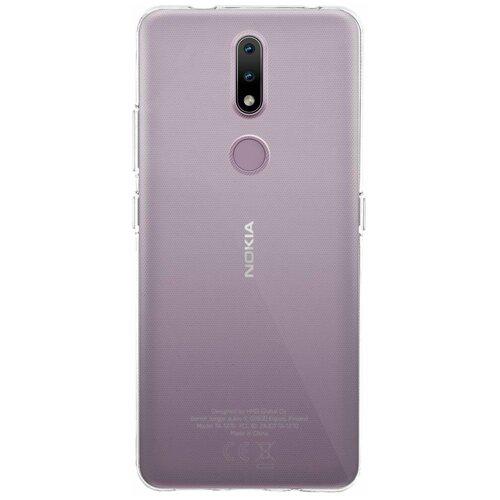 Прозрачный силиконовый чехол ROSCO для Nokia 2.4 (Нокиа 2.4)