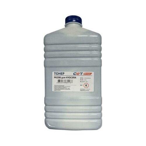 Фото - CET Тонер Cet PK208 OSP0208K-500 черный бутылка 500гр. для принтера Kyocera Ecosys M5521cdn/M5526cdw/P5021cdn/P5026cdn узел фотобарабана kyocera dk 5230 p5021cdn p5021cdw p5026cdn m5521cdn m5526cdw 302r793010