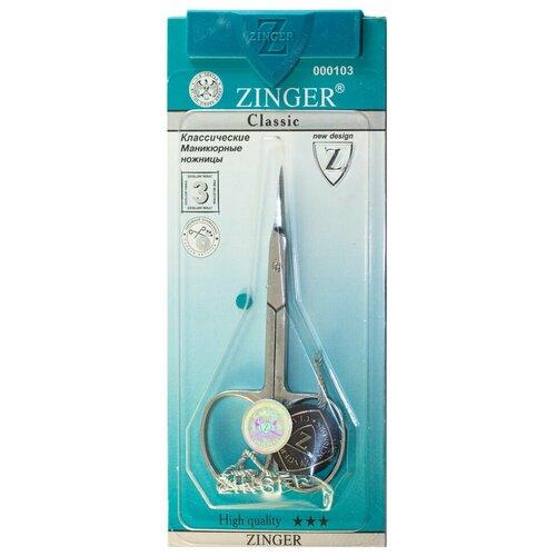 Маникюрные ножницы Zinger B-117 SH Salon с профессиональной ручной заточкой маникюрные ножницы zinger 1343 6 pb sh salon zp 0813436