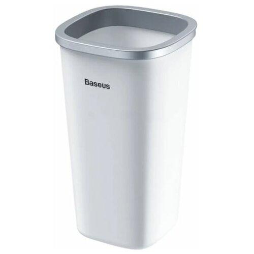 Автомобильный контейнер для мусора Dust-free Vehicle-mounted Trash Can белый Baseus