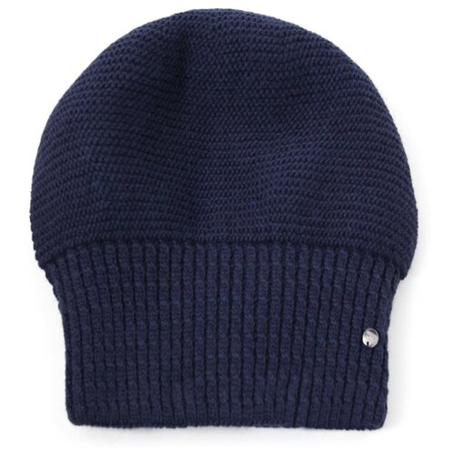 шапка женская finn flare цвет ярко синий a20 11148 111 размер 56 Шапка женская Finn Flare, цвет: темно-синий A20-11166_101, размер: 56
