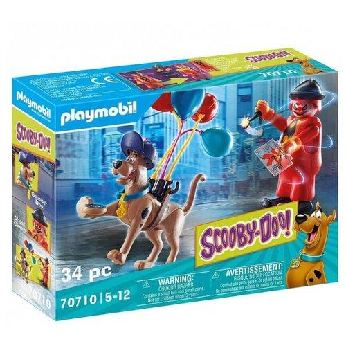 Конструктор Playmobil Приключение с призрачным клоуном 70710