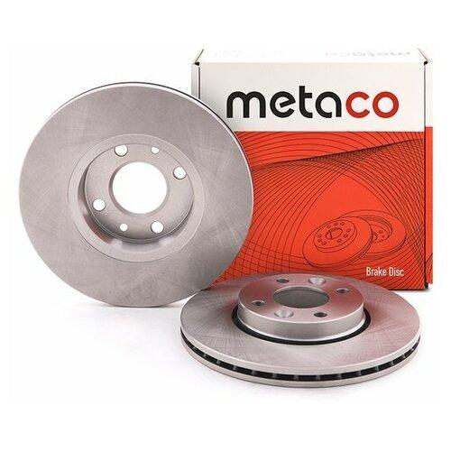 Диск тормозной передний вентилируемый (Производитель: METACO 3050005)