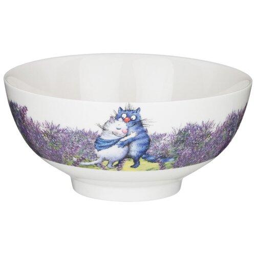 Салатник - тарелка суповая Lefard лаванда 15*7 см Lefard 104-710