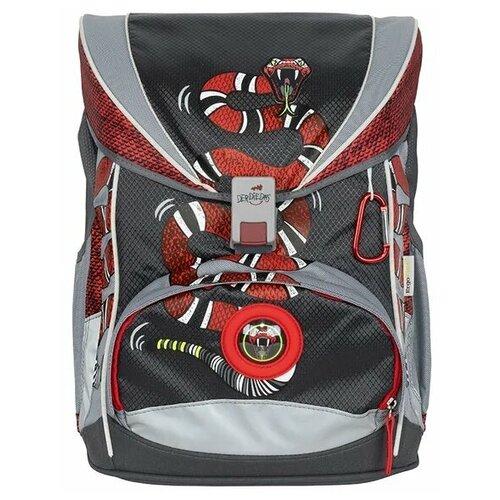 Фото - Ранец DerDieDas ErgoFlex Огненный змей 800г, 5 предметов (ранец, пенал с наполнением, пенал без наполнения, спортивная сумка, бокс для тетрадей) огненный змей