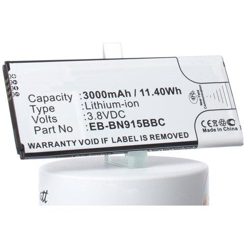 Аккумуляторная батарея iBatt 3000mAh для Samsung SM-N915V, SM-N915P, SM-N915K, SM-N9150, SM-N915D, SM-N915A, SM-N915FY, SM-N915J, SM-N915L, SM-N915R4, SM-N915S