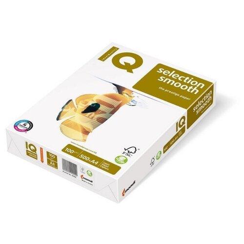 Фото - Бумага IQ Smooth, А4, марка А+, 100 г/м2, 500 листов бумага iq allround а4 марка в 80 г м2 500 листов